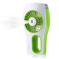 2019 Newest USB mini humidifier electric water spray rechargeable electric fan water cooler industri thumbnail image