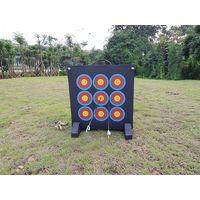 Silk printing shooting portable target