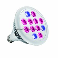 9 Red 3 Blue Hydroponic LED Grow Light Bjulb 12W Indoor Plant Grow Light thumbnail image