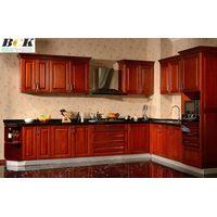 American Fashion Cherry Wood Kitchen Cabinet