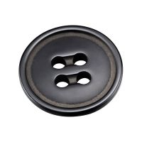 Black Ceramic Buttons