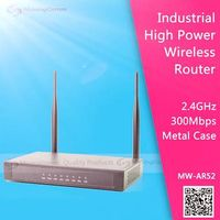 500mW High Power 2.4G 300Mbps Car WiFi router for Commercial Applications