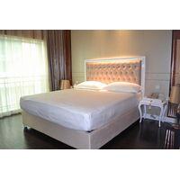 King size hotel bedroom set, solid wood king size bedroom set