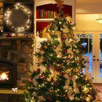 Remote Control Warm White Christmas LED Lights