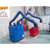 Both arms welding smoke filter