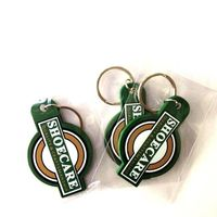 promotional present pvc keychain gifts for friend souvenir