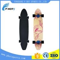 43 inch long board skateboard 7 layer Northeast Maple skate board blank skateboard decks wholesale