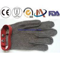 Chain mail protective glove