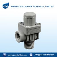 adjustable water pressure reducing valve