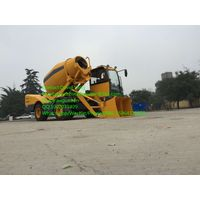 china high performance self loading 2m3 mobile concrete mixer