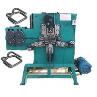machine for making strapping buckle 25 x 5 mm