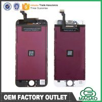Grade AAA 100% Test 1 Year Warranty for LCD iPhone 6 Display with Touch Screen Digitizer