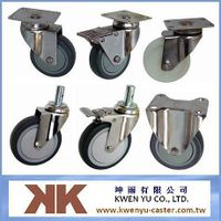 Stainless steel casters,Casters,Handcars,Noiseless caster,Instrument caster,Pneumatic caster