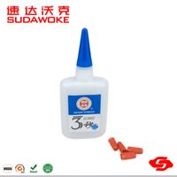 3 seconds fast bond plastic PVC super glue