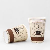 8oz 12 oz 16oz Manufacturer of paper cups,paper coffee cup hot and cold drink with lids thumbnail image