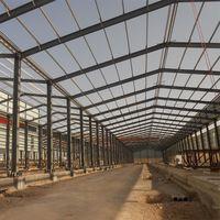 Industrial Welded H steel structural Thailand painting workshop light steel frame workshop