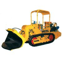 0.6CBM multipurpose side dumping crawler loader