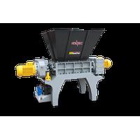 High Performance Metal Scrap Two shaft shredder M800T