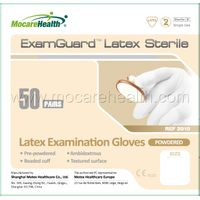 #2010 Pre-Powdered Steriled Latex Examination Gloves