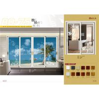 2015 Hot Sale Pearl White Color Sliding Door