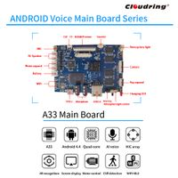 A33 Android AI Main Board for Robot/ HIFI Speaker APP control