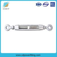Hot-DIP Galvanized Turnbuckle for Wire Rope thumbnail image