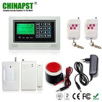 10 Wireless & 4 Wired Zones GSM Home Alarm with Touch Key