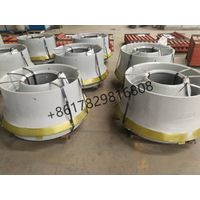 Concave & Mantle for Cone Crushers Produced by Manganese Steel