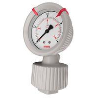 Integrated Diaphragm Pressure Gauge (PP Case Type) #PDSPL-S