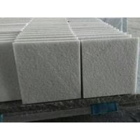 White marble outdoor sand hammered white marble