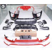 Km fit for 2014-2018 Macan-95 bodykits Turbo front bumper rear bumper tech-art kit facelift