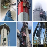 VFD construction building hoist crane for lifting materials and passenger thumbnail image