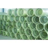 GRP fiber glass water supply pipe