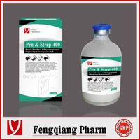 animal drugs manufacturer Procaine Penicillin G & Dihydrostreptomycin Sulphate Injection 20:20