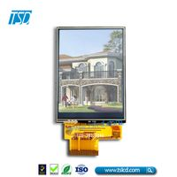 "2.8"" 240x320 tft lcd touch screen with 40-pin MCU 8/16 bit interface"