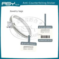CustomizedJewelry tags with RFID anti-forgery