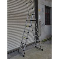A type telescopic ladder