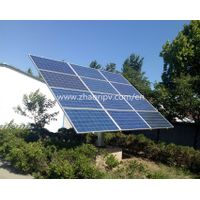 ZRS-12A semi-auto dual axis solar tracking system