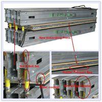 Plate vulcanizing press for rubber conveyor belt splice thumbnail image