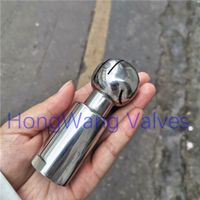 Stainless Steel Sanitary Food Grade Rotary Cleaning Ball Spray Ball