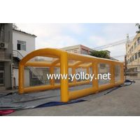 Outdoor Portable Car Garage Tent Inflatable Spray Paint Booth thumbnail image