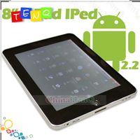 8inch  Android 2.2 APad Tablet PC 3G WiFi MID Netbook Freescale A8 1GHZ CPU FT805T IPed Netbook Notb