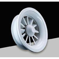 HVAC Round Shape Air Ceiling Diffuser Aluminum Swirl Diffuser