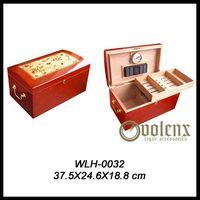 wooden cigar humidor thumbnail image