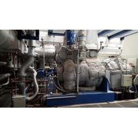 7,2 MW steam turbine MAN, Marc 2 , back pressure