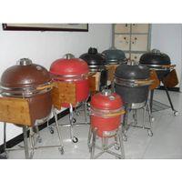 Kamado ceramic BBQ grills,smoker grill, charcoal grill, kamado grill