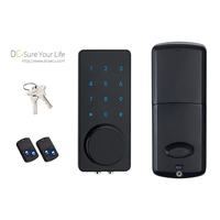 Commercial Residential Remote Controller Code Touchscreen Door Locks Deadbolt Keyless Digital Locks