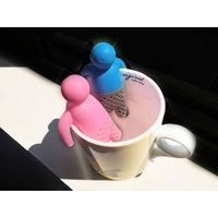 Wholesale high quality cheap price silicone tea strainer