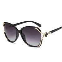 OuShiun polarized sunglasses, fashionable fragrance sunglasses, ladies'personality frame sunglasses