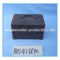 2015 new design hand painted wooden gift & storage box